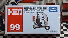 TOMICA #99 PIZZA-LA DELIVERY BIKE 1/39 SCALE NEW IN BOX