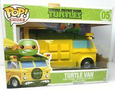 Funko Pop Rides Vaulted TMNT Ninja Turtles #05 Turtle Van Unopened
