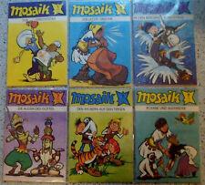 Mosaik 1984+85+86: Nr. 1 -12 -- Comics aus dem Verlag Junge Welt