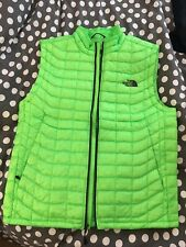 Men's The North Face Thermoball Vest Power Green Medium