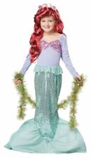 Little Mermaid Dress Up Play Child S 6 - 8 Halloween Costume