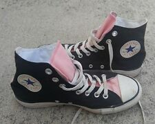 Converse All-Stars High Tops Black Pink Mens 7.5 / Womens 9.5