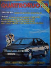 Quattroruote 390 1988 - test Turbo diesel ALFA 33 contro Lancia Delta  [Q42]