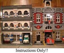 GET 100+ Lego INSTRUCTIONS Like MODULAR POLICE STATION for 10197 Fire Brigade