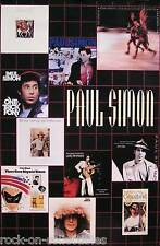 Paul Simon 1991 Rhythm Of The Saints Promo Poster Original