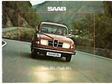 Saab 96 L Saloon & 95 L Estate V4 1975-76 UK Market Sales Brochure