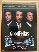 Goodfellas DVD 1990 True Life Crime Classic 2-Disc Region 1 Special Edition