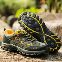 Men's Hiking Shoes Waterproof Outdoor Climbing Sneakers Athletic Adult Fashion