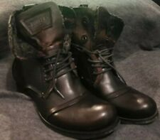 Bunker Military Style Boots size 7.5