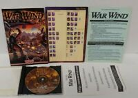 War Wind SSI PC Game + Manual - Includes Install Key - Mint Disc 1 Owner !