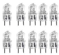 (10)-Bulbs Replacement for 120V Samsung Microwave ME18H704SFS Cook Top Light 20W