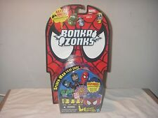 MARVEL BONKA ZONKS SPIDER-MAN FACE CASE SERIES 1 NEW IN PACKAGE 2011 <<<<SALE>>>