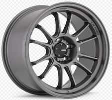 KONIG HYPERGRAM 17x8 4x108 +40 Matte Grey Wheels (Set of 4)