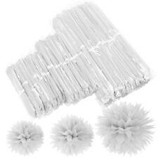 30pcs Pomponede papel  para decoración colgar bodas fiesta tamaño 20cm 24cm 37cm
