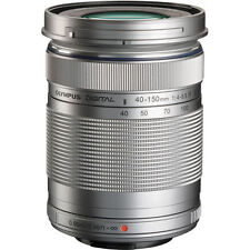 Olympus M.Zuiko Digital ED 40-150mm f/4.0-5.6 R Lens (Silver) Bundle