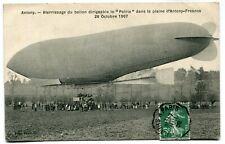 CPA - Carte Postale - France - Antony - Atterrissage du Ballon dirigeable
