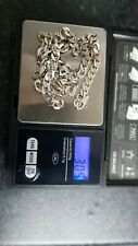 silver 925 chain 30 grams too good for scrap