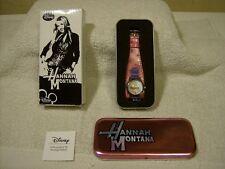 2008 AVON Disney Hannah Montana Uhr mit Charme baumeln/BRANDNEU
