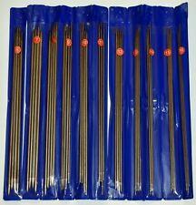 Double Set Of Aluminium Double Point Knitting Needles Sizes UK 6-16