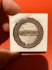 John F. Kennedy Center For The Performing Arts Paperweight Old Rare Perfect