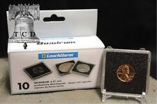 10 ✯ British Gold Sovereign Coin Snaplock Capsule 19mm LIGHTHOUSE QUADRUM 2x2