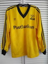 adidas Vintage Sweden Olympic Long Sleeve Shirt - Size S