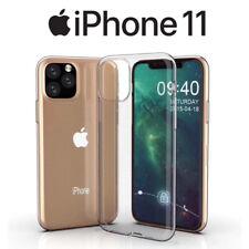 FUNDA SILICONA GEL TPU FINA TRANSPARENTE PARA iPHONE 11 / 11 PRO / 11 PRO MAX