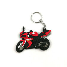 Cool Motorcycle Rubber Keyring Keychain Key Chain For YAMAHA YZFR1 R6 R3 R125