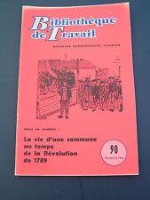 BT 90 1949 MAGNAC SUR TOUVRE la vie d'une commune au temps de la revolution de 1