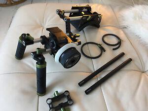 Lanparte Double Handle DSLR Shoulder Mount Rig Kit With Follow Focus