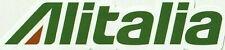 Alitalia sticker / adesivi - appr. 12cm x 2,5cm