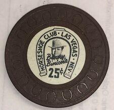 Binions Horseshoe 25 cent Obsolete horseshoemold casino chip