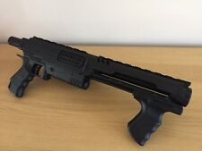 Nerf N-Strike raider Cs-35,  Pump Action Shotgun Matt Black Customised Painted.