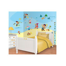 Stickers kit for bedroom Disney Jake and the Never Land Pirates 41509 Walltastic