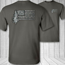 Forester Nos de la Bandera Camiseta - American Silvicultura Camisa Park Ranger