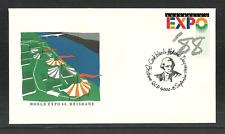 AUSTRALIA 1988 WORLD EXPO SHIPS EXPLORERS CAPTAIN COOK COMMEMORATIVE COVER