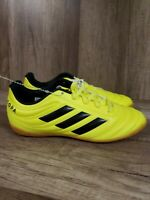 Adidas Copa 19.4 In J Kids Indoor Soccer Shoes Solar yellow/Black F35451 Size 3