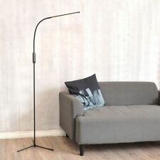 Led Floor Lamp Remote Dimmable Touch Standing Light Timer Usb Black Tall Lamp