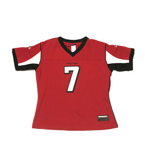 Michael Vick Atlanta Falcons NFL Equipment Reebok Stitched Authentic Red Jersey