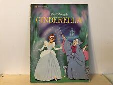 Vintage Cinderella Softcover Golden Book Book
