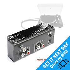 More details for power dynamics pdx010 stereo phono preamplifier turntable line signal preamp