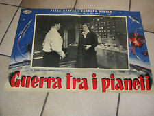 FOTOBUSTA, SCI-FI PETER GRAVES,Guerra tra i pianeti (Killers from Space),WILDER