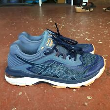 Asics GT-2000 6 T855N Running Shoes Women's Size 7.5 Blue Teal Hike Workout Gym