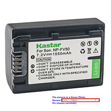 Kastar Replacement Battery for Sony NP-FV50 & Sony DCR-SX15 DCR-SX20 DCR-SX21