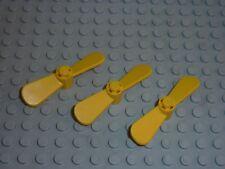 3 x LEGO Propellor 2 Blade 5.5 Diameter Réf 4745 Set 4146/1868/350/4139/9255...