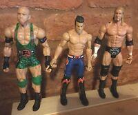 WWE Mattel  Evan Bourne / Ryback / Triple H Wrestling Action Figure