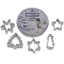Anniversary House : Mini Snowfall Cookie Cutters (5 cutters)