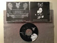 MORT - FRANKONIAN WRATH 2003 MEGA RARE DEMO NEW! UNGOD INFERNAL BLASPHEMY ZORN