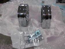 Harley Davidson Vrsca Vrsc Vrod V-rod Chrome Billet Muffler Clamps Rare