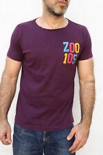 Lo Zoo di 105 RADIO ITALIANA Viola Cotone T-SHIRT VINTAGE 90 S ITALIA GIROCOLLO M